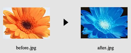 画像の色加工2