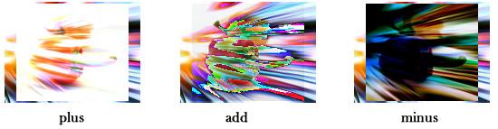 画像の合成例plus,add,minus