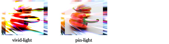 画像の合成例vivid-light,pin-light
