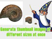 [応用編] サイズの異なるサムネイル画像を一括で生成する
